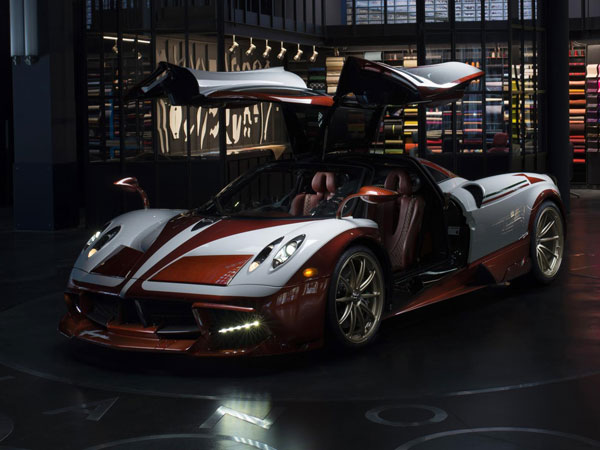 Pagani Huayra Lampo Revealed: One-off Inspired By 1950s Fiat Concept