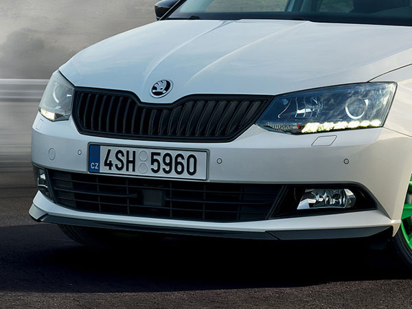 skoda reveals fabia limited edition to celebrate rally titles