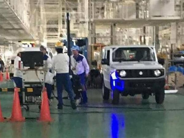 2018 Suzuki Jimny Spied In Japan; Facts, Rumours And Images