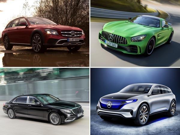 Auto expo 2018 mercedes benz india reveals its lineup for 2017 mercedes benz lineup