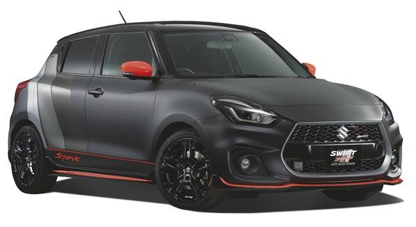 Suzuki Swift Sport Salon Version Revealed Drivespark News