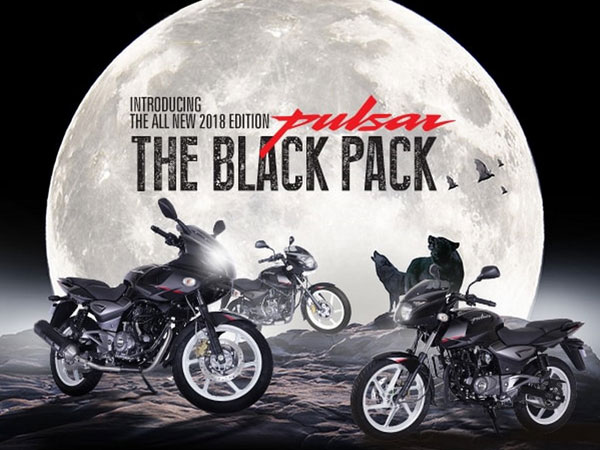 Bajaj Pulsar 150, 180, 220 Black Pack Edition Launched In India; Pulsar Series Reaches 1 Crore Sales