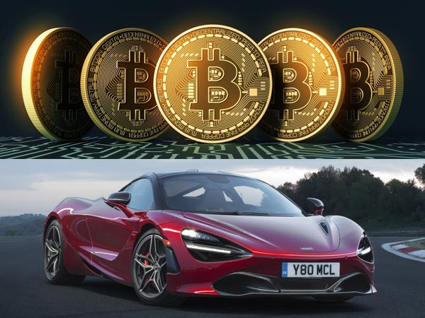This McLaren 720S Costs Only 30 Bitcoins While Others Cost $285,000