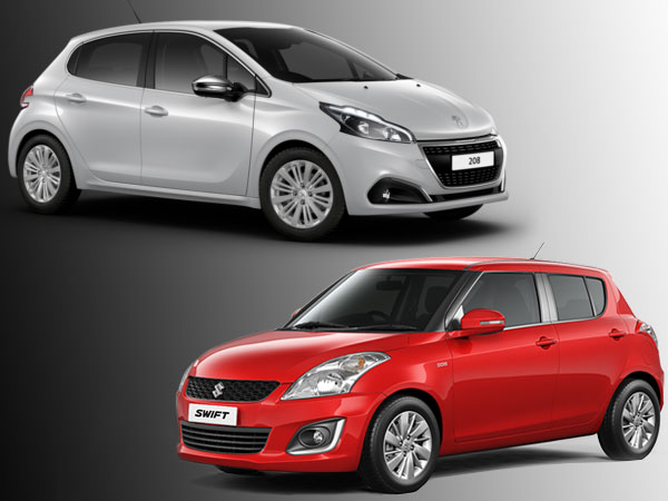 Peugeot's Maruti Swift Rival Is Coming To India