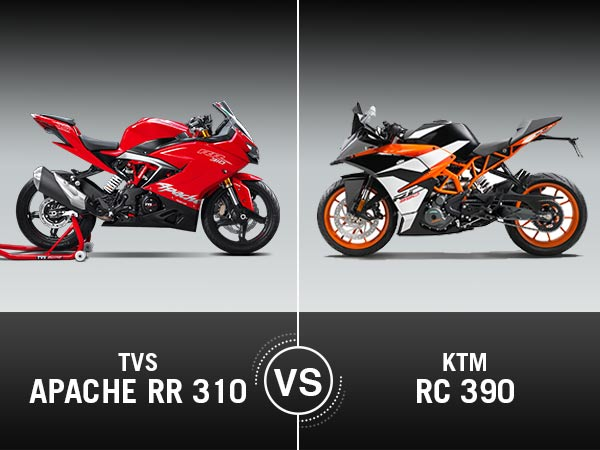 TVS Apache RR 310 Vs  KTM RC 390 Comparison: Specifications