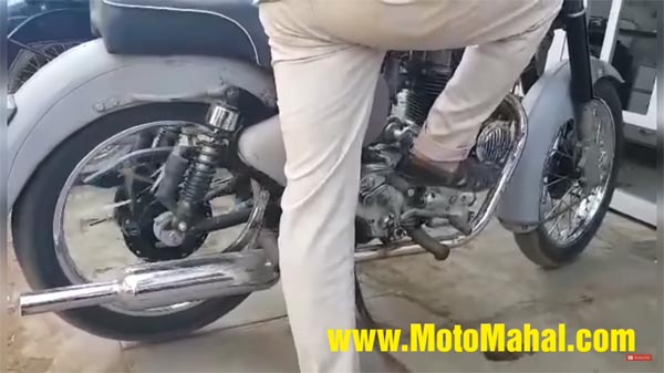 This Royal Enfield Bullet Gets A Reverse Gear