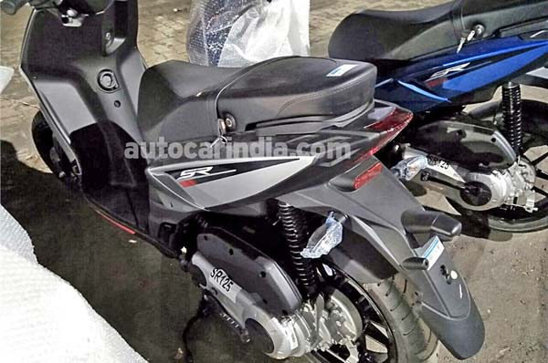 Aprilia SR 125 To Be Launched Soon In India — Spotted At Dealership