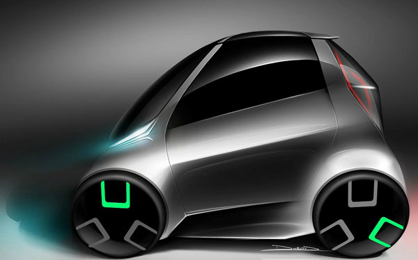 Hriman Motors To Unveil Two-Seater Electric Car