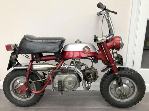 John Lennon's Honda Monkey Bike Is Up For Auction