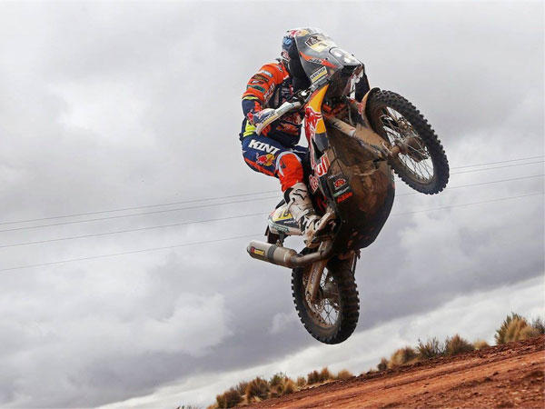 France's Despres takes Dakar Rally lead