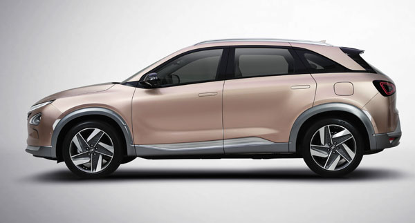 Next-Generation Hyundai Hydrogen Fuel Cell SUV Unveiled