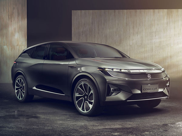 CES 2018: Byton Concept Electric SUV Unveiled