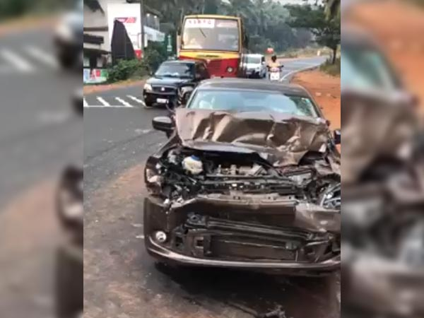 Video: Volkswagen Vento Crushed Between Two Trucks; Reflects Its Excellent Build Quality
