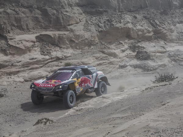 Dakar Rally, Stage 4: ABV Grabs Stage Win