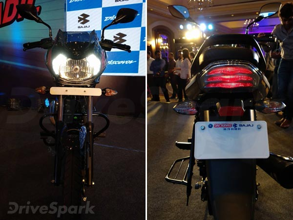 Bajaj Discover 110 & Discover 125 Launched In India