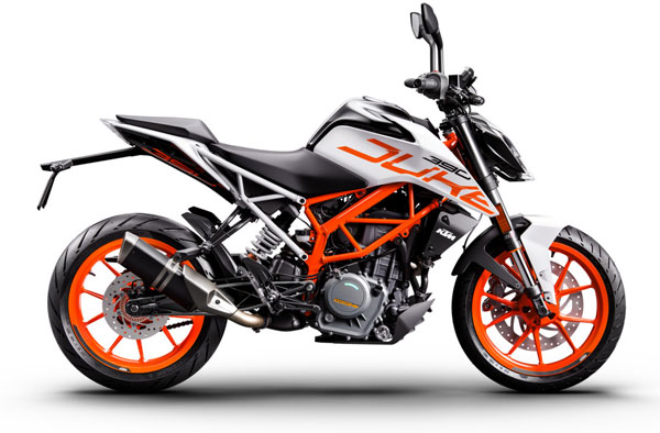 2018 KTM Duke 390 Launched In India — Gets White Colour Option