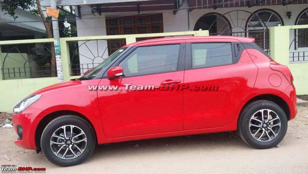 2018 Maruti Swift Spotted In India