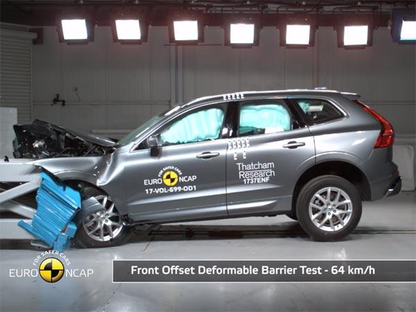 Safest Car In 2017 Euro Ncap Crash Test Rating Volvo Xc60