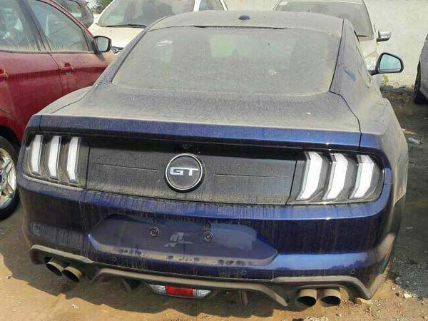 2018 Ford Mustang Facelift Spied In India