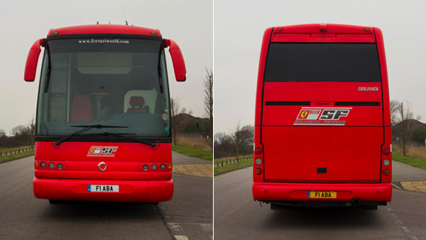 Ferrari Bus Used By Michael Schumacher Up For Auction