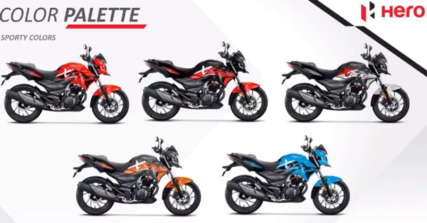 Colours Of The Xtreme 200R