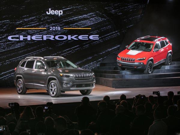 Jeep Cherokee Gets Fresh Face, Turbocharged Engine