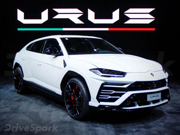 Lamborghini Urus Launched In India At Rs 3 Crore
