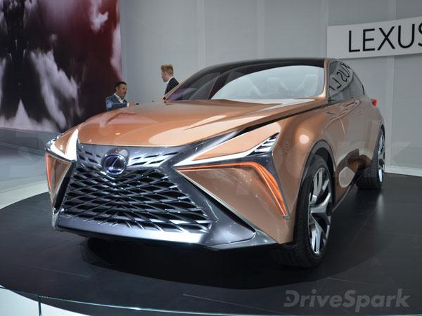 2018 Detroit Auto Show: Lexus LF-1 Limitless Concept Revealed