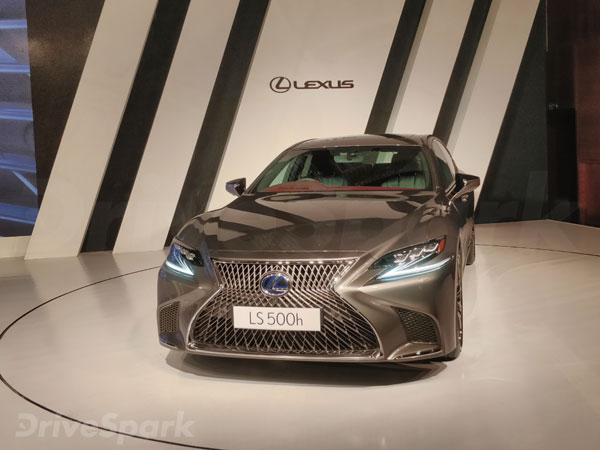 Lexus LS 500h Launched In India — Prices Start At Rs 1.77 Crore