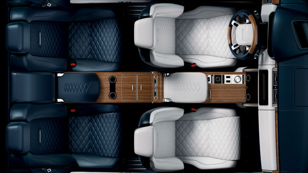 Two-Door Range Rover SV Coupe Interior Teased Ahead Of Geneva Debut