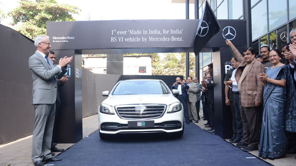 Merc becomes first to launch BS-IV, locally made vehicle