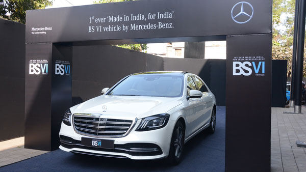 Mercedes-Benz BS VI Car Launched In India