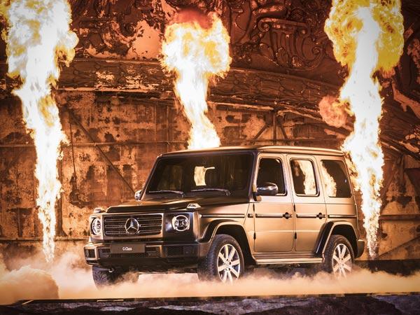 2018 Detroit Auto Show: Mercedes G-Class Revealed