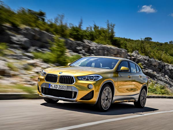 2018 Detroit Auto Show: New BMW X2 Unveiled