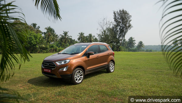 Ford EcoSport Storm revealed: Jazzed-up version thrusts on off-road credentials