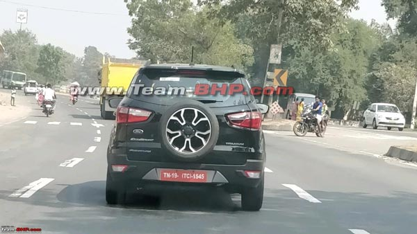 New Ford EcoSport Signature Edition Spied Undisguised; Launch Soon