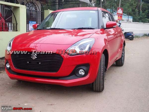 2018 Maruti Swift Spotted In India Ahead Of Launch
