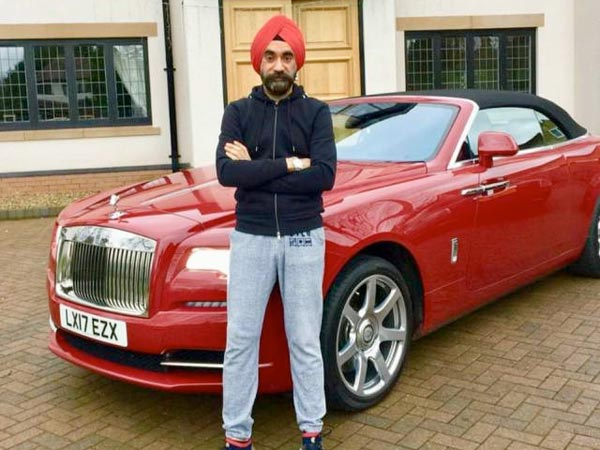Sikh Billionaire Matches His Rolls Royce With Different Turban Colours