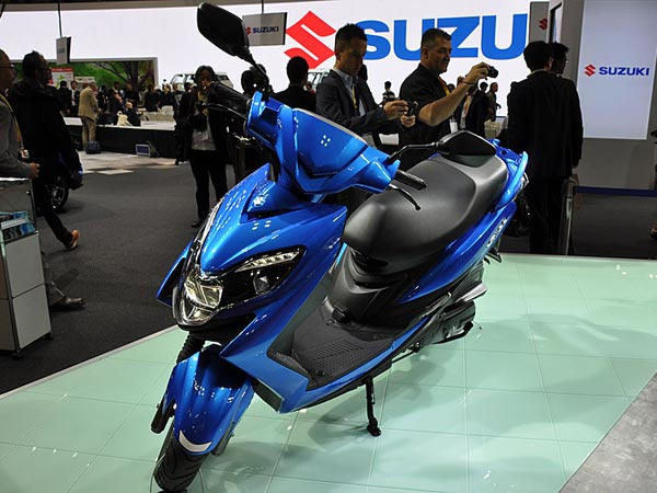 Auto Expo 2018: Suzuki's Aprilia SR 150 Rival Is Coming To India
