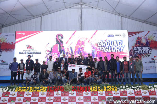 BAJA SAEINDIA 2018 Powered By Mahindra— The Ground To Glory