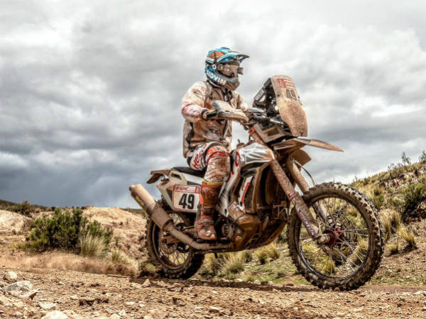 Dakar 2018: CS Santosh And Stage 7 Updates