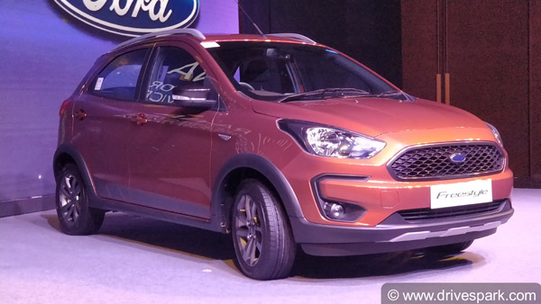Ford Figo Cross unveiled - To be launched as Ford FreeStyle CUV
