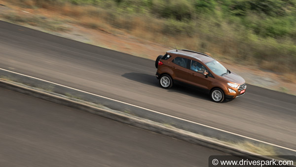 Scoop! Ford EcoSport Signature Edition spotted