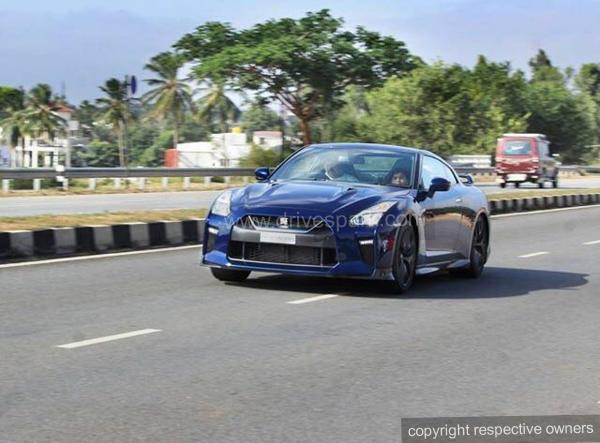 Nissan Gt R Bangalore Hyderabad Highway Crash Insane Accident
