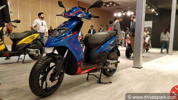 Aprilia SR 125 First Look Review - Price, Specs, Features