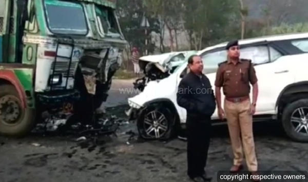 BJP MLA Lokendra Singh Dies In Car Accident — Toyota Fortuner ...