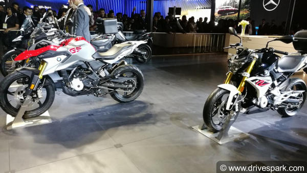 BMW G 310R & G 310GS Showcased At The Auto Expo 2018