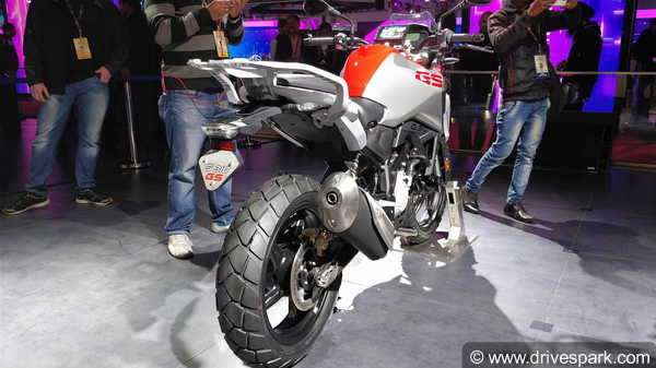 Auto Expo 2018: BMW G 310 GS Showcased In India