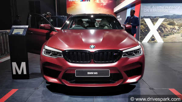 Auto Expo BMW M Launched In India At Rs Crore - Bmw car show 2018