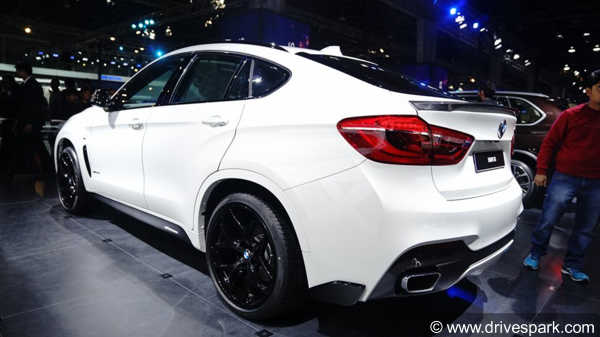 Auto Expo 2018: BMW X6 xDrive35i M Sport Launched At Rs 94.15 Lakh